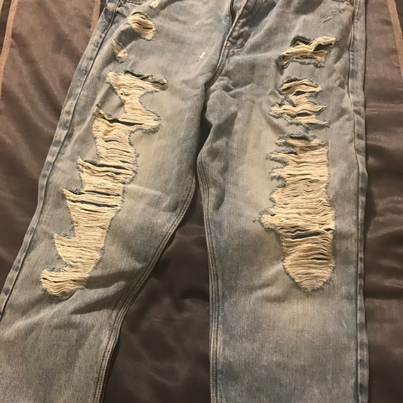 Express Denim - Denim 100% cotton vintage skinny high rise jeans